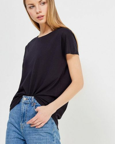 Черная футболка United Colors Of Benetton