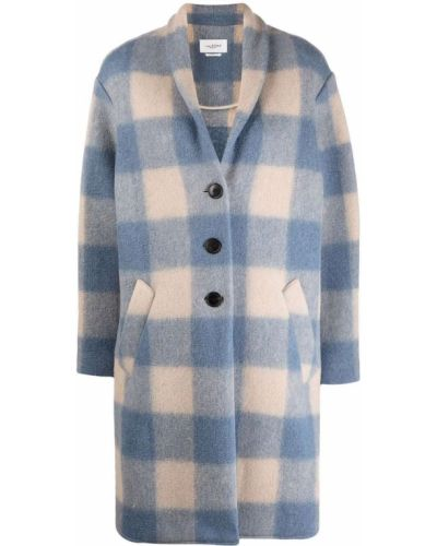 Бежевое шерстяное пальто Isabel Marant étoile