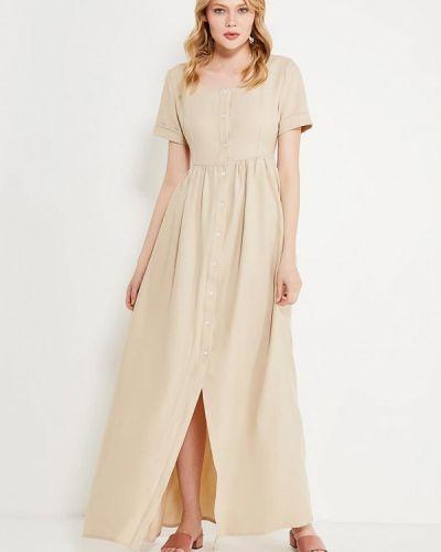Платье платье-сарафан бежевое Love & Light