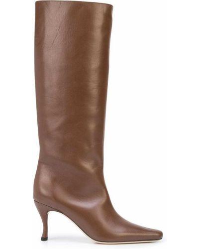 Кожаные сапоги - коричневые By Far