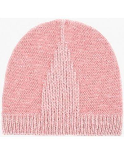 Розовая шапка осенняя Flioraj