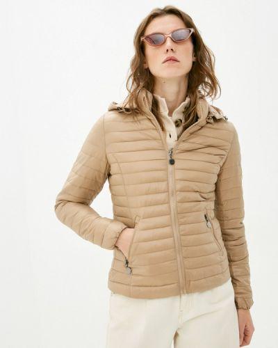 Коричневая утепленная куртка Z-design