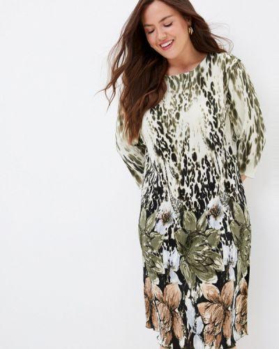 Повседневное зеленое повседневное платье Prewoman