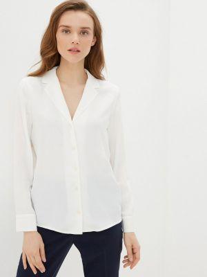 Белая блузка с длинными рукавами Rivadu