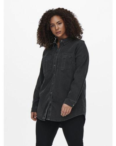 Koszula jeansowa - czarna Only Carmakoma