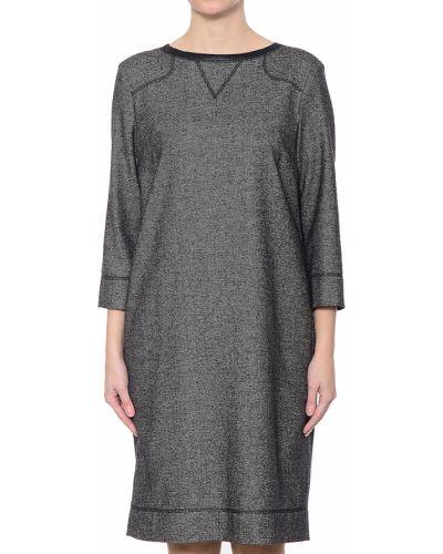 Шелковое платье - серое Bogner