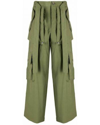 Spodnie - zielone Kenzo
