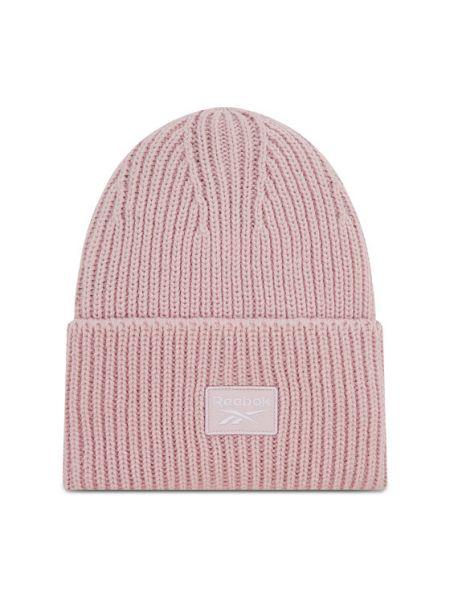 Różowa czapka beanie Reebok Classic