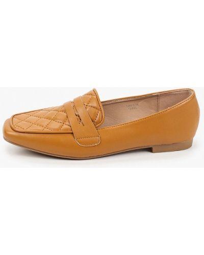 Кожаные коричневые лоферы Sweet Shoes