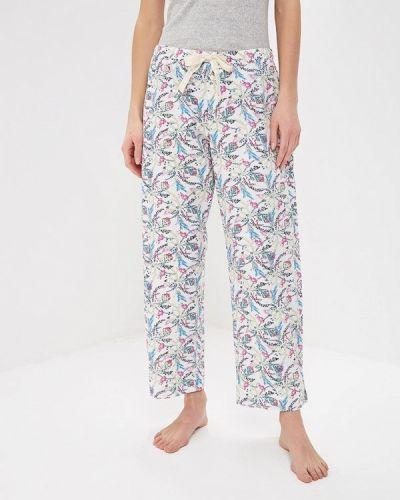 Белые брюки домашние Gap