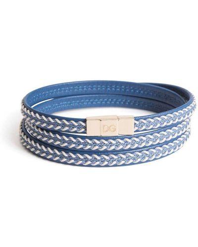 Niebieska złota bransoletka ze złota Dolce And Gabbana