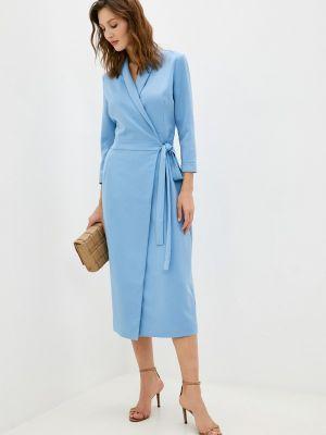 Голубое платье с запахом Trendyangel