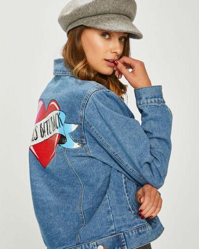 Джинсовая куртка укороченная облегченная Answear