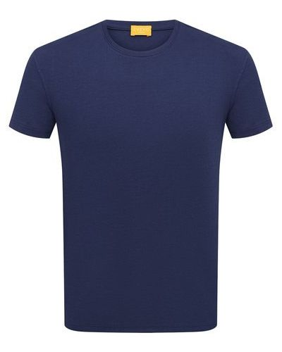 Хлопковая синяя футболка Svevo