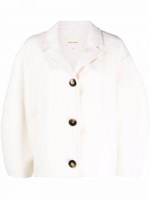 Белая куртка длинная Loulou