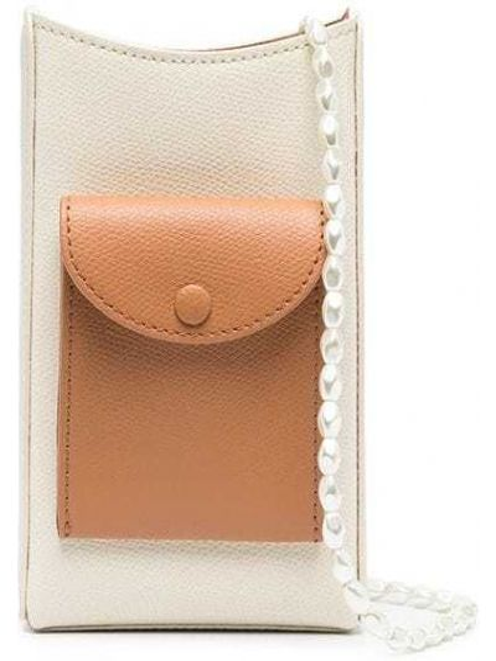 Beżowy portfel skórzany Cafuné
