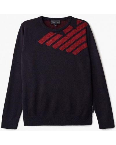 Черный свитер Emporio Armani