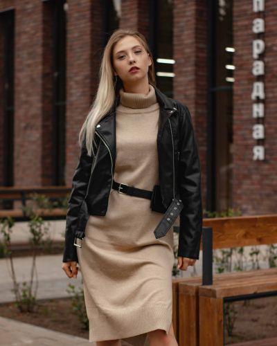 Черная куртка из полиэстера Aftf Basic
