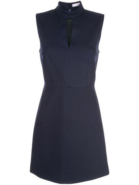 Платье с вырезом приталенное Tibi