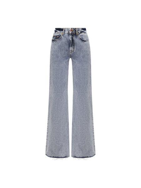 Хлопковые синие джинсы Filles A Papa