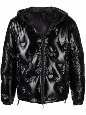 Стеганая куртка - черная Emporio Armani