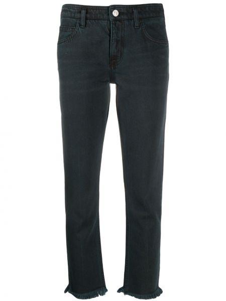 Прямые джинсы укороченные на пуговицах Current/elliott