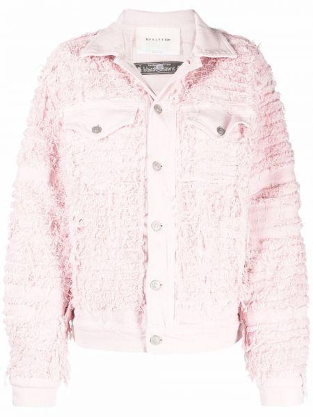 Розовая куртка с вышивкой 1017 Alyx 9sm