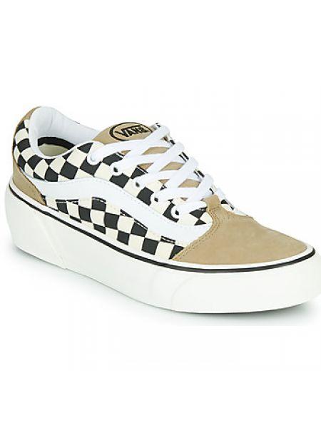 Beżowy buty Vans