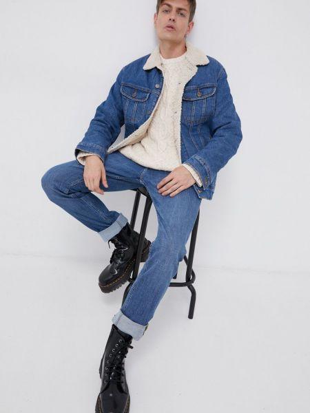 Джинсовая куртка короткая Lee