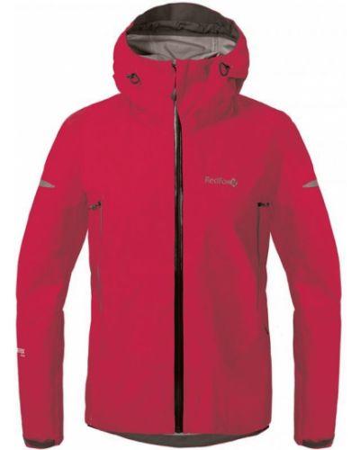 Малиновая куртка на высоких Red Fox