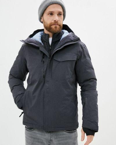 Серая куртка Salomon