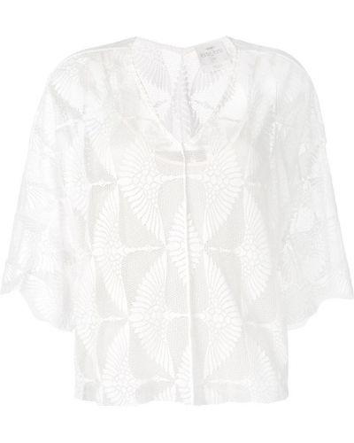 Блузка кружевная с V-образным вырезом Forte Forte