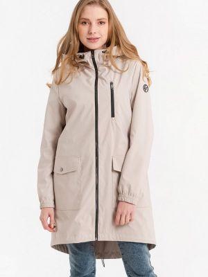 Облегченная бежевая куртка Lab Fashion