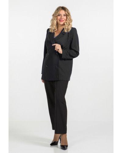 Повседневный шерстяной пиджак с воротником Luxury