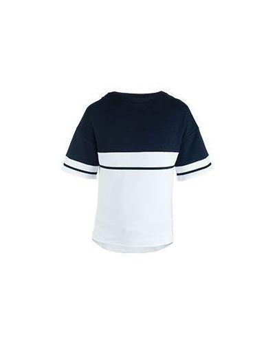Хлопковая футболка - синяя Eleventy