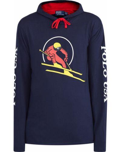 Толстовка с капюшоном спортивная трикотажная Polo Ralph Lauren