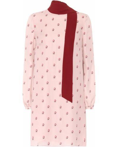 Платье розовое винтажная Valentino