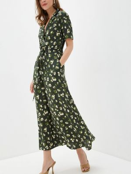 Зеленое платье Argent