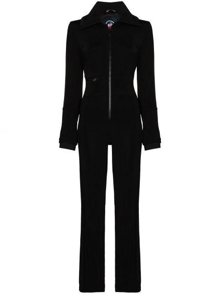 Костюмный черный спортивный костюм на молнии Fusalp