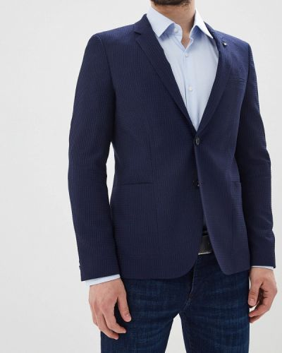 Пиджак турецкий синий Hugo Hugo Boss