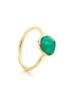 Pierścień ze srebra ze złota Monica Vinader