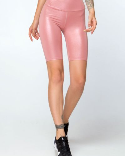 Розовые шорты с завышенной талией Designed For Fitness