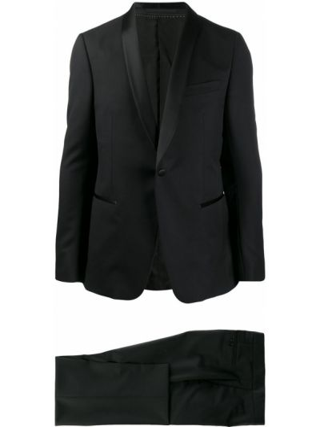 Garnitur kostium wełniany Z Zegna