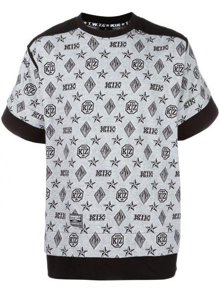 Хлопковая футболка - белая Ktz