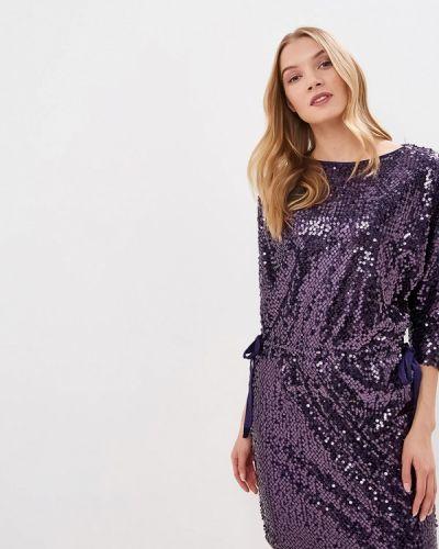Вечернее платье фиолетовый Lusio