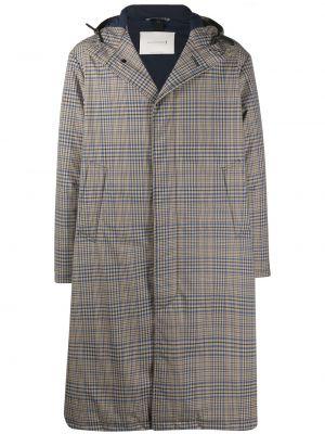Шерстяное пальто - черное Mackintosh
