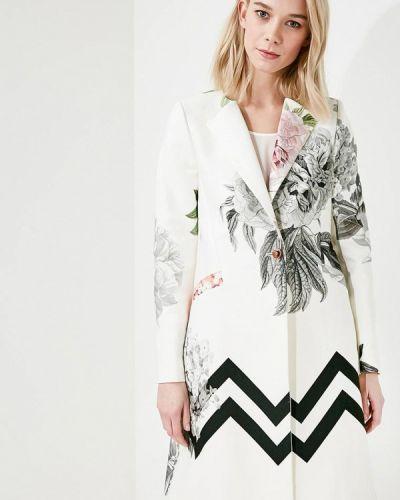 Белое пальто весеннее Ted Baker London
