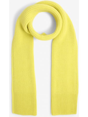 Żółty szalik Marc Cain Sports