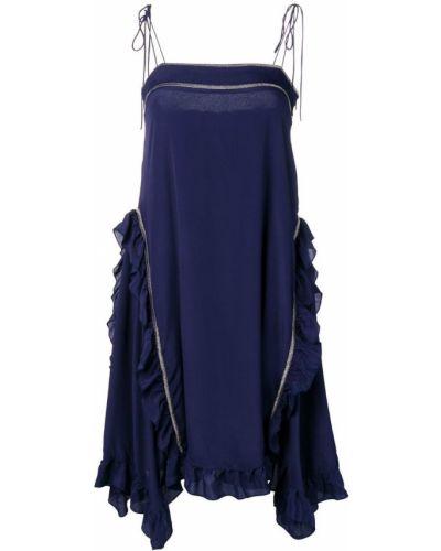 Платье на бретелях с завязками See By Chloé