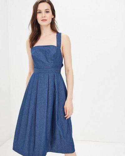 Джинсовое платье весеннее Tutto Bene
